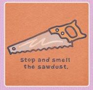 Men's Crusher Tee Sawdust Saw