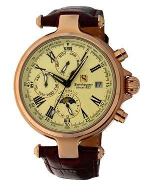 Steinhausen Logo Detail Classic Automatic Calendar Men's Watch