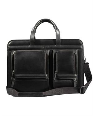 Silvio Tossi Smooth Leather Business Bag