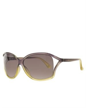 Michael Kors M2729S Lucca Rectangular Women's Sunglasses Made In Italy