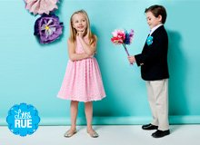 Pastel Dresses & Plaid Shirts Kids' Holiday Best