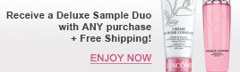 Receive a Deluxe Sample Duo with ANY purchase + Free Shipping | ENJOY NOW