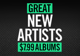 Great New Artists - Albums from $7.99
