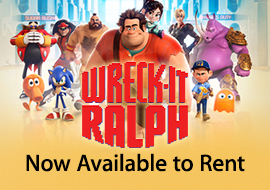 Wreck-It Ralph - Now Available to Rent