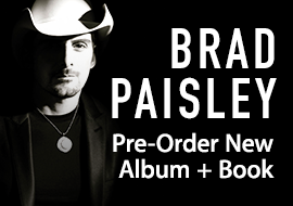 Brad Paisley - Pre-Order New Album + Book