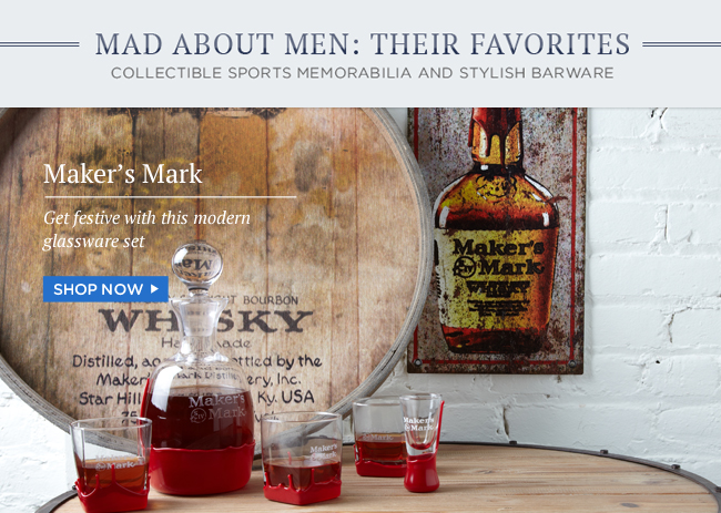 Maker's Mark Barware | Shop Now