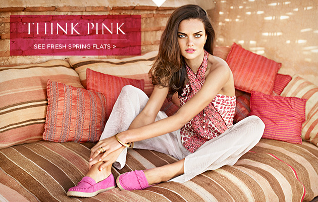 Think Pink - See Fresh Spring Flats >