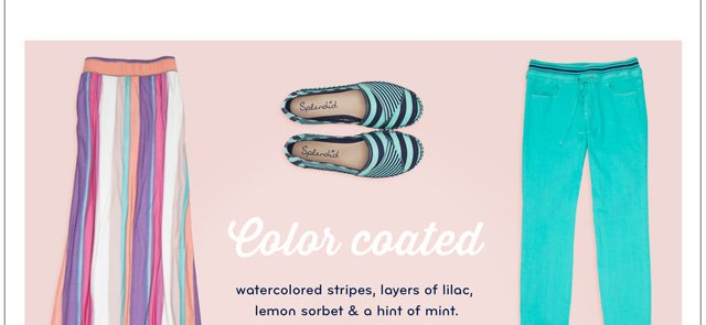 Coated for Spring: The Most Perfect Pastels