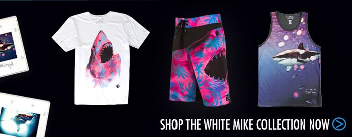 Shop the White Mike Collection Now