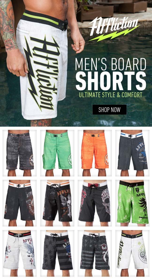 New Affliction Boardshorts!