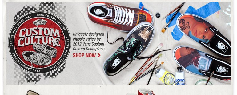 VANS Custom Culture Collection