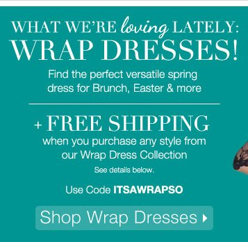 Shop Wrap Dresses