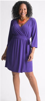 The Wrap Dress by Lane Bryant