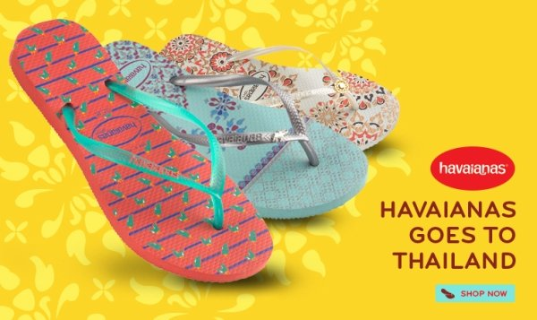 Havaianas Goes To Thailand