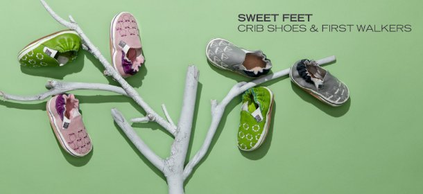 SWEET FEET: CRIB SHOES & FIRST WALKERS, Event Ends March 9, 9:00 AM PT >