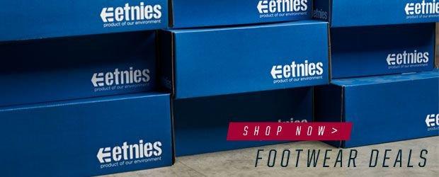 etnies Footwear deals