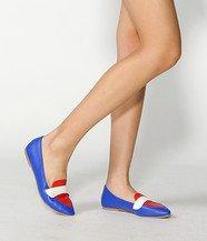 Color-Block Slip-Ons