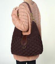 The Sak - Bennett Crochet Bucket