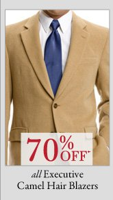 70% OFF* Executive Camel Hair Blazers