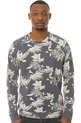 The Fallon Crewneck Sweatshirt in Navy Blue