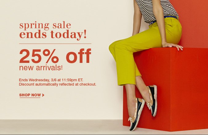 Click here to shop Spring Sale