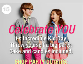 Celebrate YOU | SHOP PARTY OUTFITS: