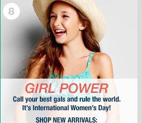 GIRL POWER | SHOP NEW ARRIVALS: