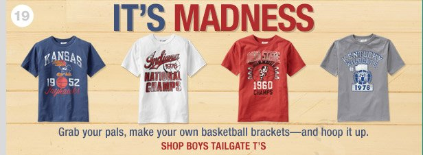 IT'S MADNESS | SHOP BOYS TAILGATE T'S