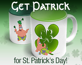 Get Patrick for St. Patrick's Day!