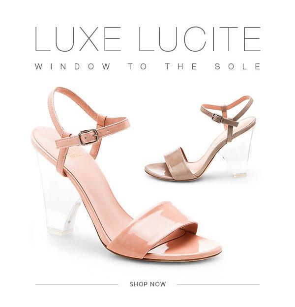 Luxe Lucite