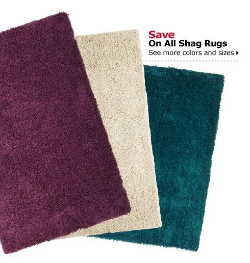 Save On All Shag Rugs See more colors and sizes