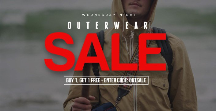 Click to check out the outerwear sale!