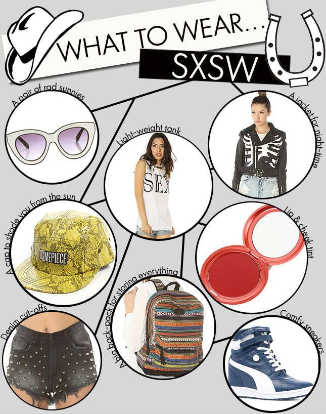 Do you know what you wearing to SXSW? Find out on Miss KL!