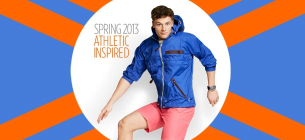 ATHLETIC INSPIRED: ANORAKS, SHORTS & SNEAKERS, Event Ends March 9, 9:00 AM PT >