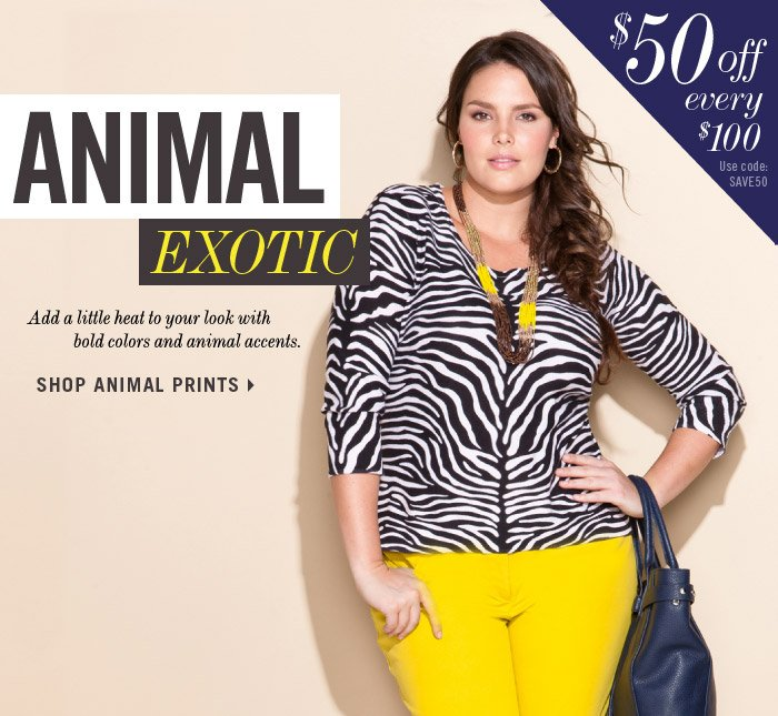 SHOP ANIMAL PRINTS »