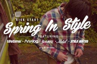 Kick Start Spring In Style