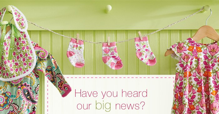Have you heard our big news?