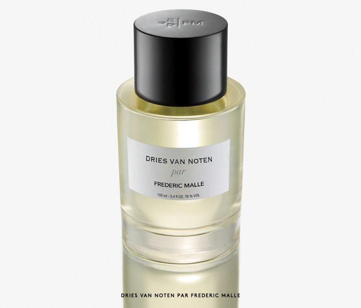 The iconic perfumist meets the beloved designer: Introducing Dries Van Noten by Frederic Malle.