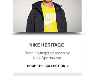 NIKE HERITAGE | Running-inspired styles by Nike Sportswear | SHOP THE COLLECTION