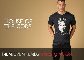 HOUSE OF THE GODS - MEN