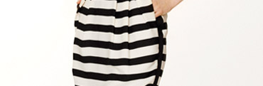 Lullian striped dress