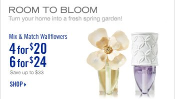 Mix & Match Wallflowers - 4 for $20