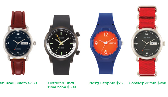 The Jack Spade Watch Collection. Shop Watches.