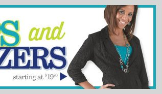 Blazers - Starting at $19.80. SHOP NOW