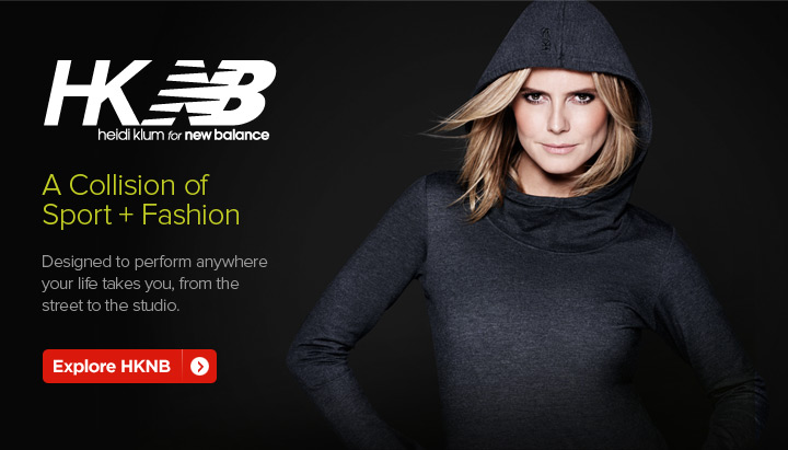 Explore Heidi Klum for New Balance - Click Here