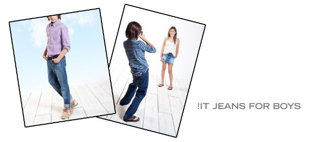 !IT JEANS FOR BOYS, Event Ends March 12, 9:00 AM PT >