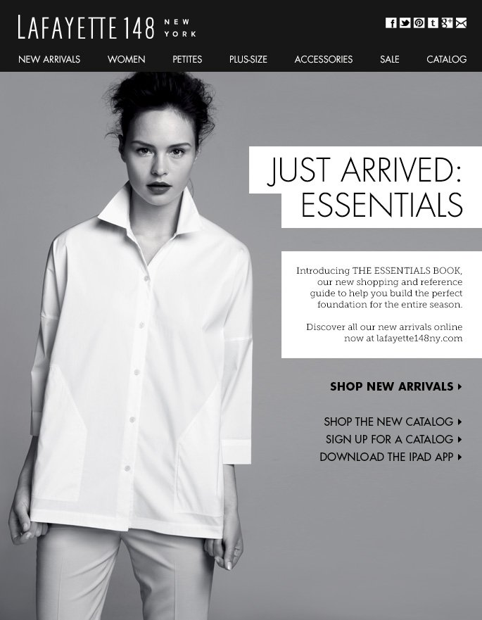 First Look: The NEW Essentials Catalog
