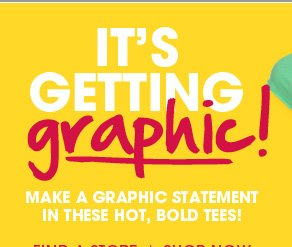 It's Getting Graphic - Shop Graphic Tees