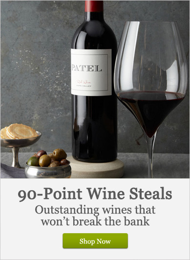 90-Point Wine Steals - Shop Now