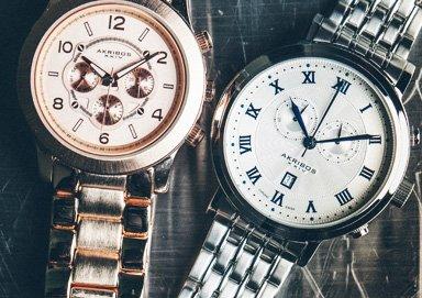 Shop Luxury Watches ft. Akribos XXIV